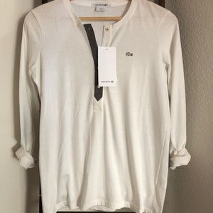 Lacoste Long Sleeves (NWT)